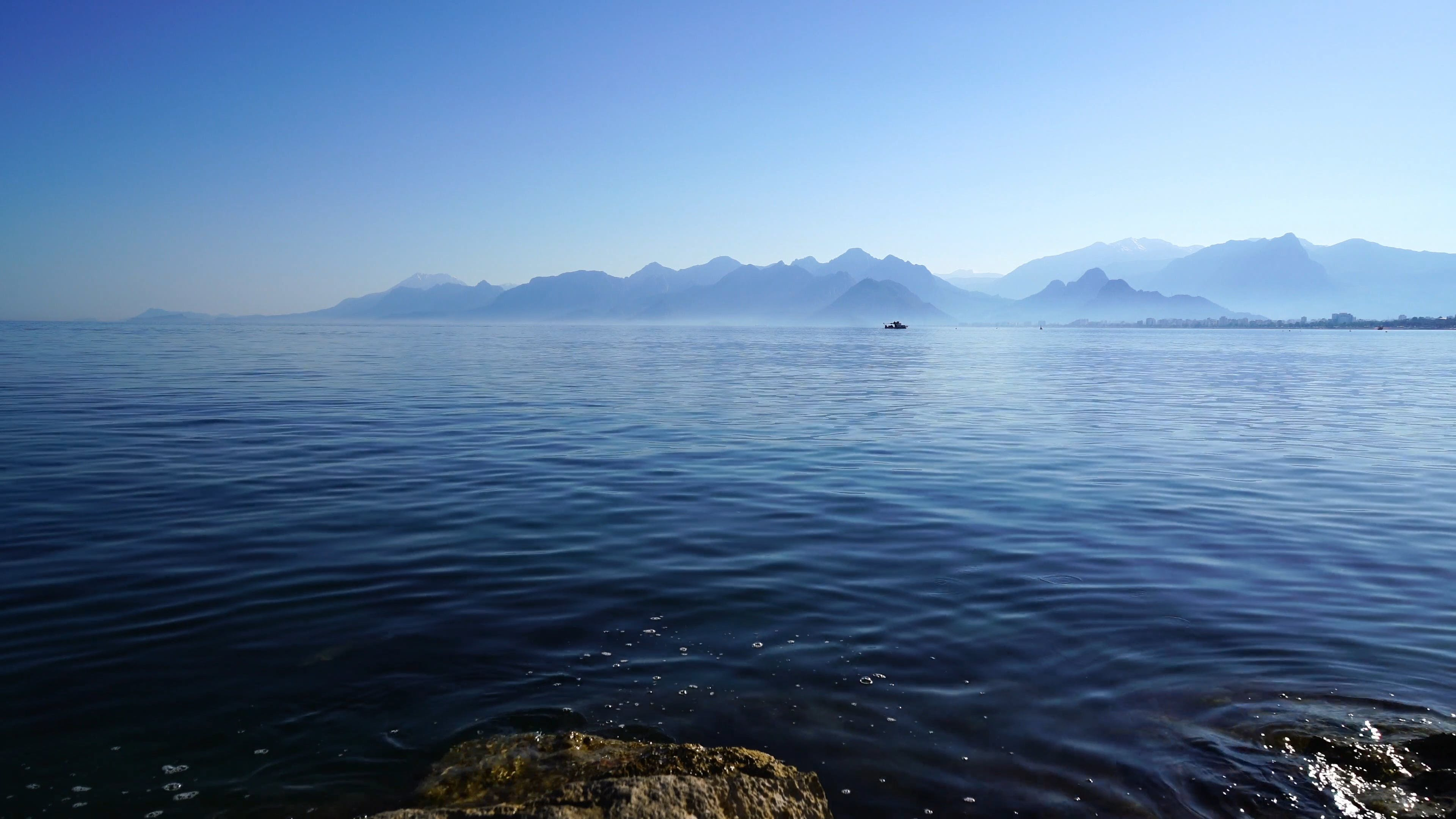 View Of The Sea With Calm Waters