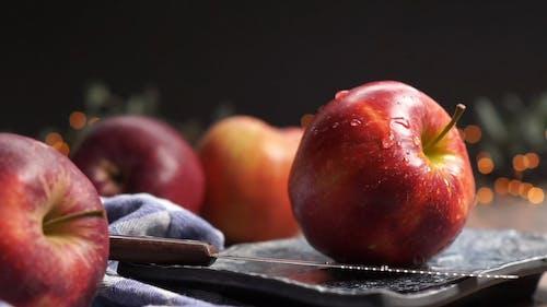 Foto d'estoc gratuïta de Apple, cinemagraph, cinematografia, fruita fresca