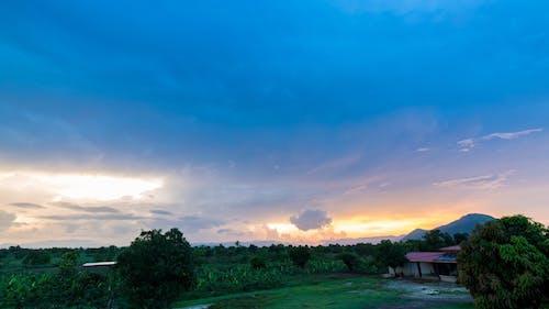 Clouds In The Sky AT Dawn