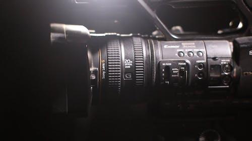 Adjusting The Lens Of A Camera