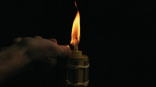 Igniting A Lamp