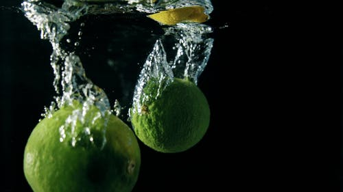 Lime And Lemons In Water