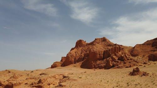 A Mountain Hills In A Desert