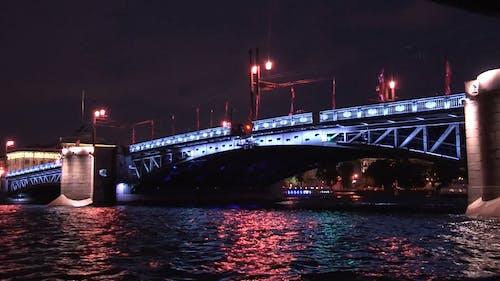 A Draw Bridge Over A River