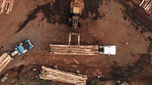 Heavy Equipment Hauling Logs