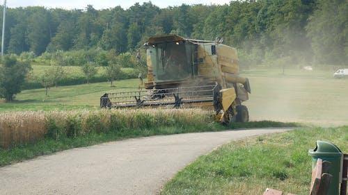 Harvester Machine Harvest Crops