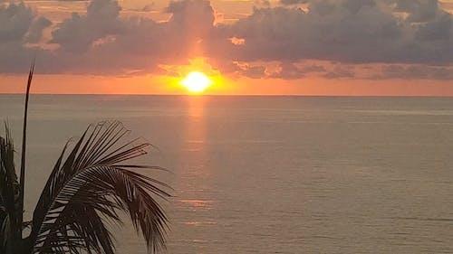 Beautiful Sunset Over The Horizon