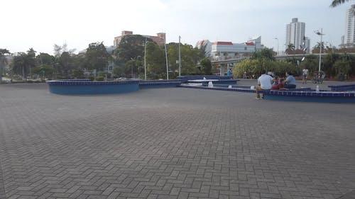 People Enjoying A Park In Panama City