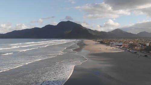 Nhìn Từ Trên Cao Của Một Bãi Biển