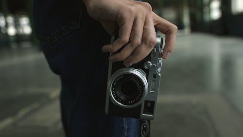 Close-Up View Of A Camera