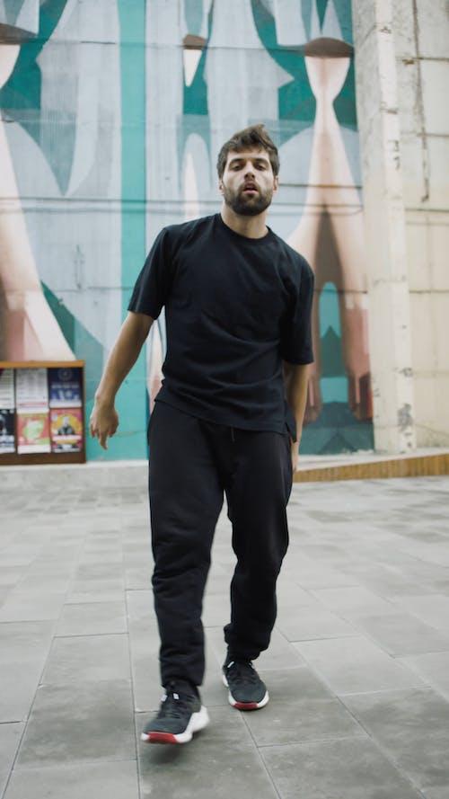 Man Dancing Hip-Hop