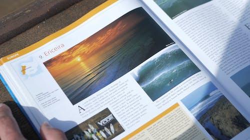 Glancing Through a Magazine