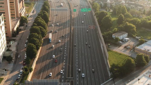 A Multi-lanes Elevated Highways