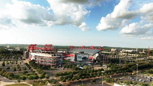 The Football Stadium Of Team Titans