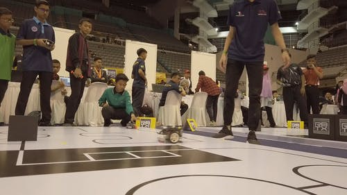 Young Kids In A Competition