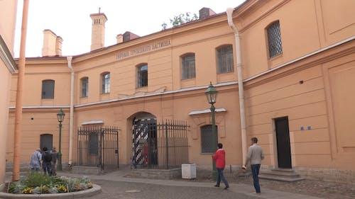 簡單設計的俄羅斯建築