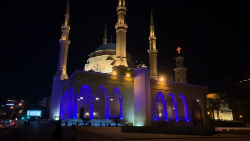 A Mosque Look At Night