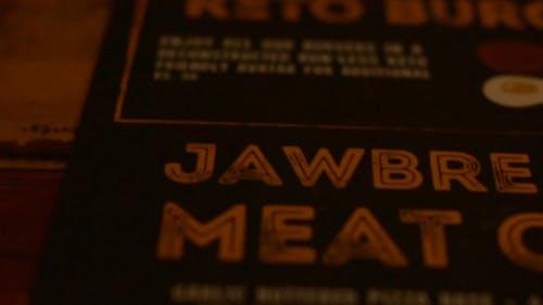 A Jawbreaker Hamburger Sandwich Cut In Half