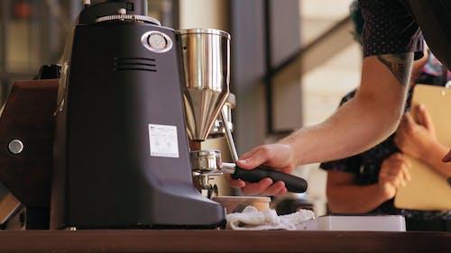 A Coffee Bean Grinder Machine