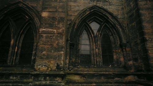 The Intricate Design On A Church Windows