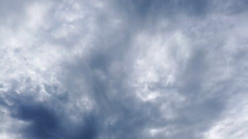 Thick Clouds In The Sky Cover The Suns