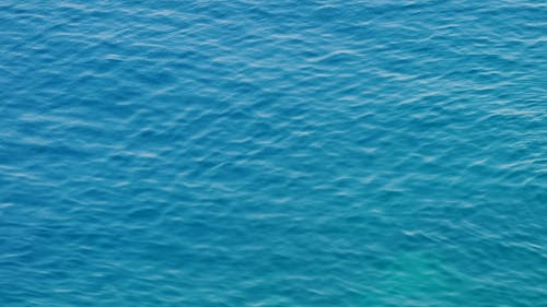 Waves In The Surface Of A Calm Water