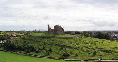 Aerial Footage Of The Castle