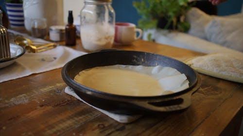 Preparing A Dough For Baking