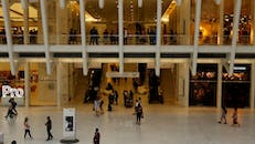 People Spending Time Inside A Mall