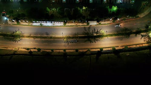 Traffic Free Road For Motor Vehicles At Wee Hours