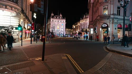 City Life At Night
