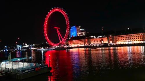 The London Eye Observation Wheel In Central London