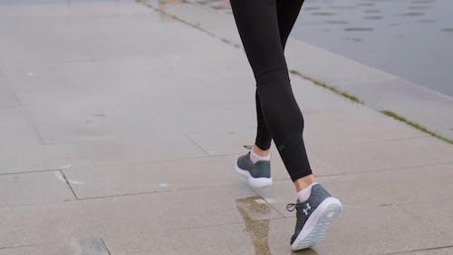 Zad Kobieta Jogging