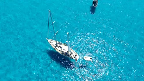 Sailing in the Middle of the Ocean