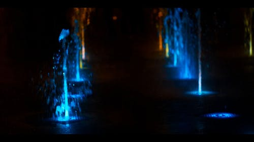 Water Fountains With Illumination