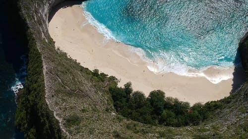 Drone Footage of Blue Ocean