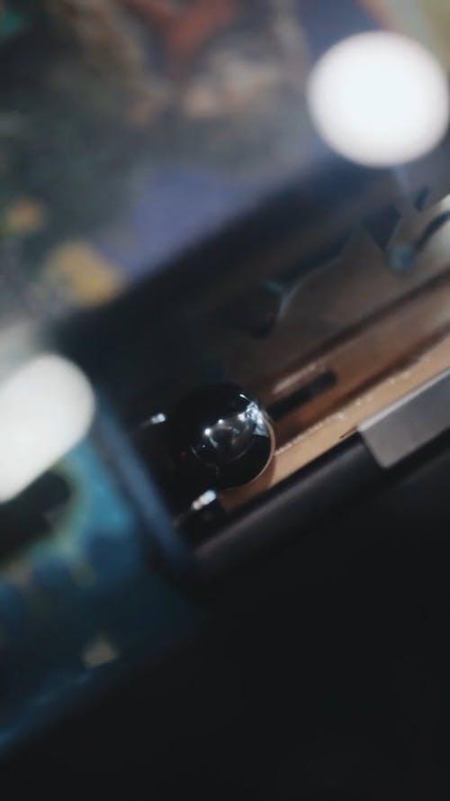 Pin Ball Machine Trigger Cartridge To Start A Game