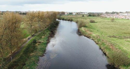 A River Between Fields