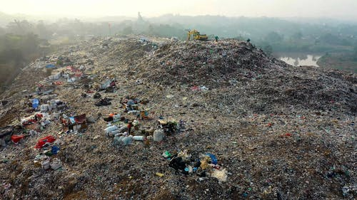 A Hill Of Waste Materials