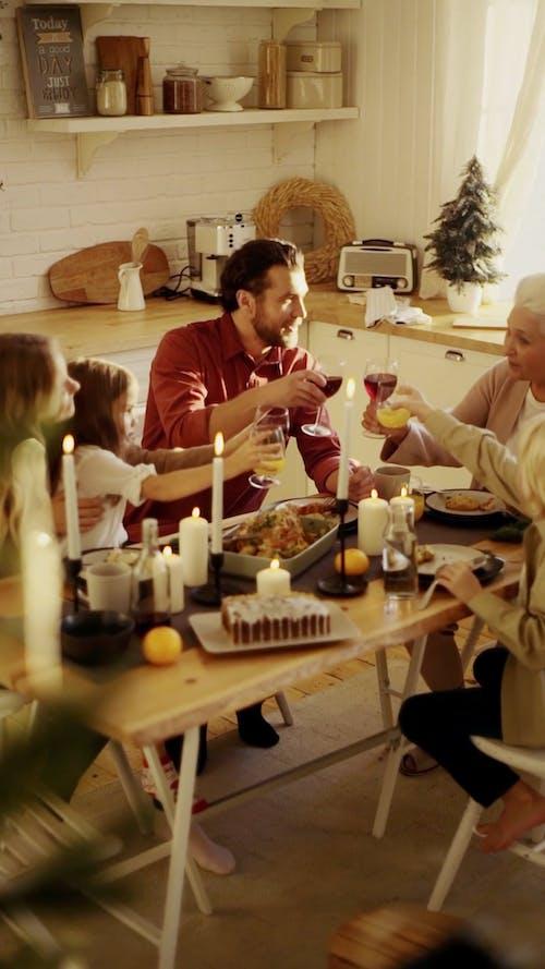 A Family Gathering For A Celebration
