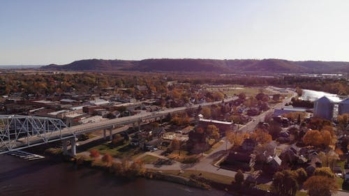 Drone Footage Of The Town