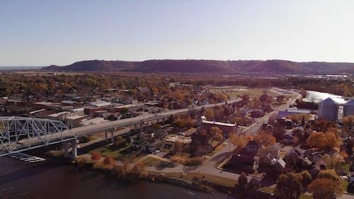 마을의 드론 영상