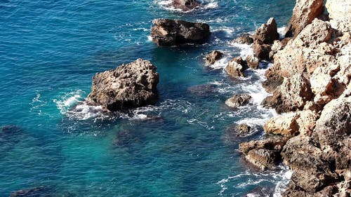 Rocks Formation On A Sea Coast