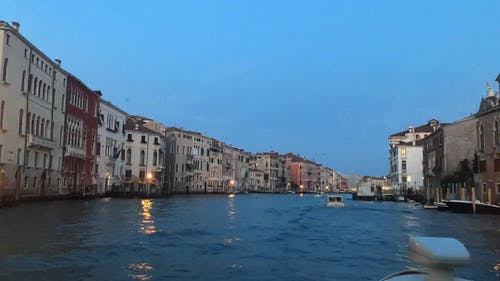 Traveling The Grand Canal Waterways Of Venice Italy