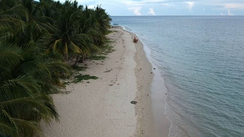 A Beautiful Beach With White Sand