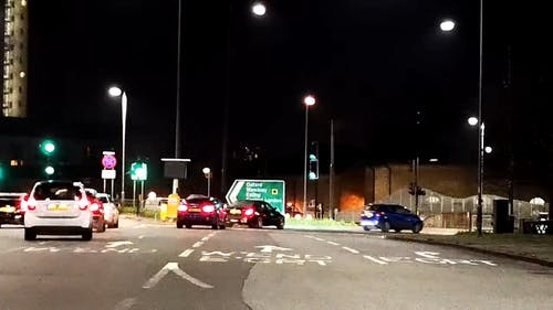Time Lapse Video Of Traffic
