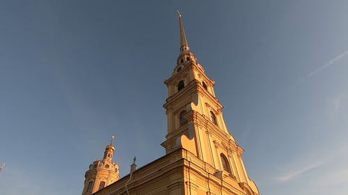 The Exterior Design Of Saint Petersburg Cathedral
