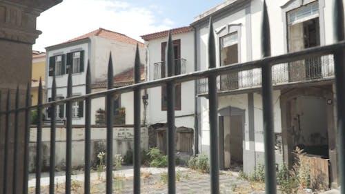 An Abandoned Building Deemed Unlivable