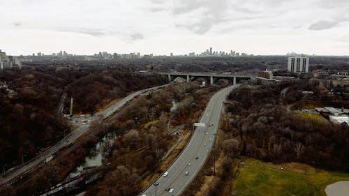 Aerial View Of A Metropolis City