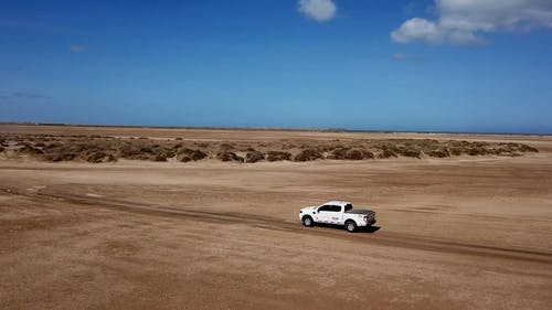 Driving An Off Road Vehicle In The Desert